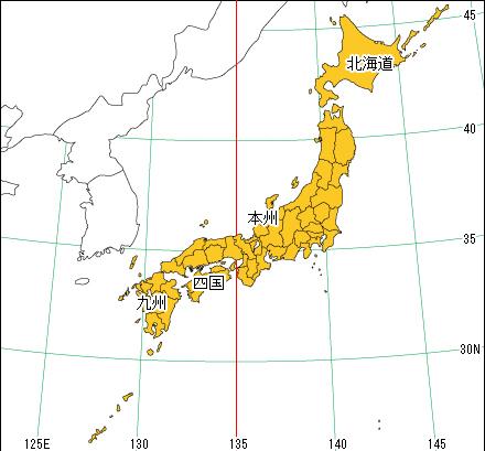 港区公式ホームページ/日本地図から探そう