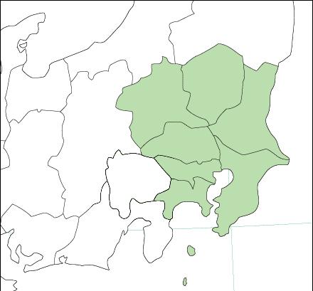 画像 : 関東地方地図画像集 ... : 関東地方の地図 : すべての講義